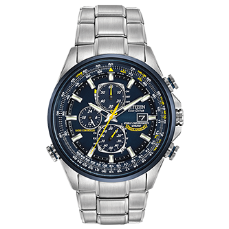 Citizen WORLD CHRONOGRAPH A-T BLUE ANGELS - Taras Design Montreal