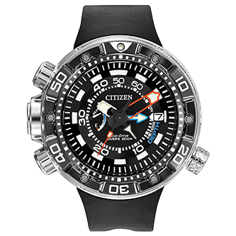 Citizen PROMASTER AQUALAND 200M DEPTH METER - Taras Design Montreal