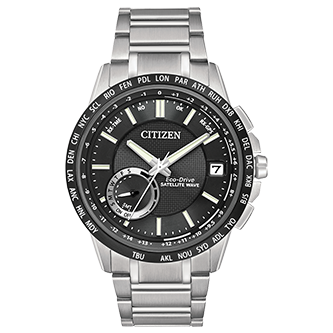Citizen ECO-DRIVE SATELLITE WAVE - WORLD TIME GPS - Taras Design Montreal