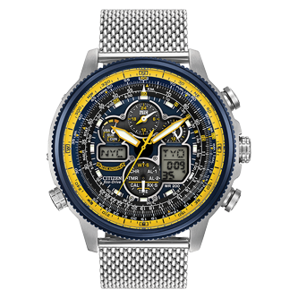 Citizen NAVIHAWK A-T BLUE ANGELS - Taras Design Montreal