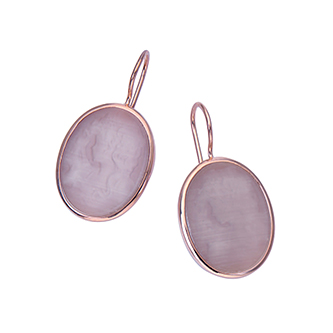 Di Donna Sterling Silver Earring - Taras Design Montreal
