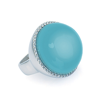 Di Donna Sterling Silver Ring - Taras Design Montreal
