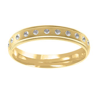 Lega Designer Wedding Band - Taras Design Montreal