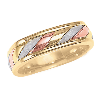 Lega Handmade Wedding Band - Taras Design Montreal